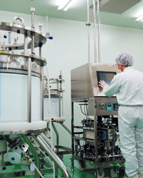 Photo: The Antibody drug manufacturing process - Purification