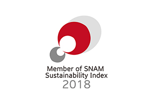 Member of SNAM Sustainability Index 2017